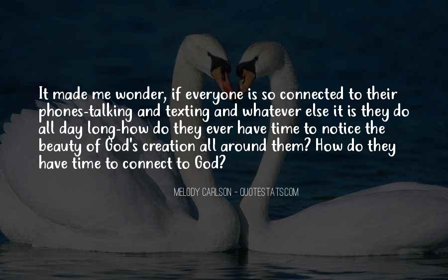 The Wonder Of It All Quotes #341021