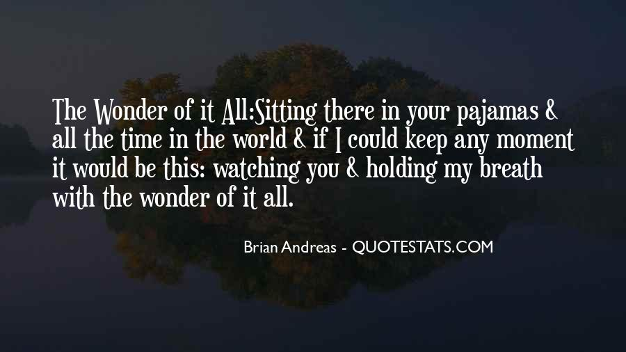 The Wonder Of It All Quotes #383895
