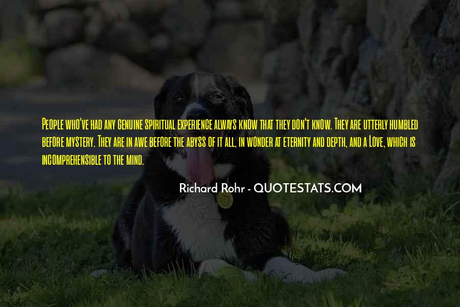 The Wonder Of It All Quotes #431300