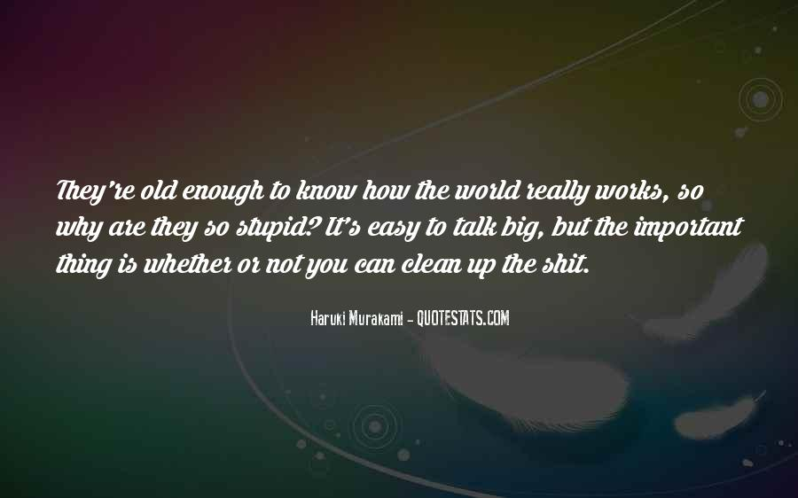 The World Is Not Enough Quotes #708873