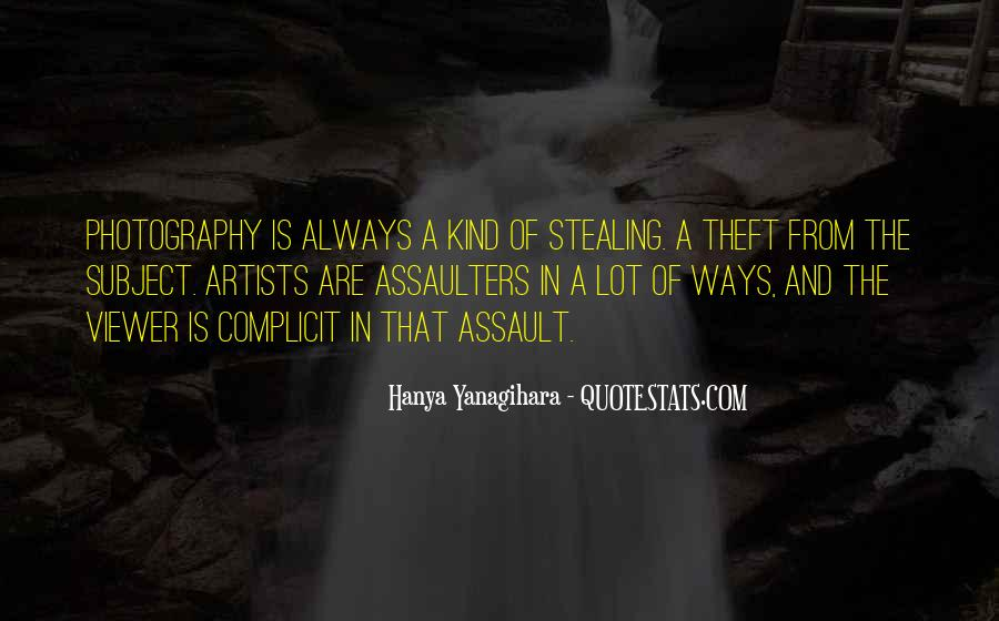 Theft Stealing Quotes #1079166