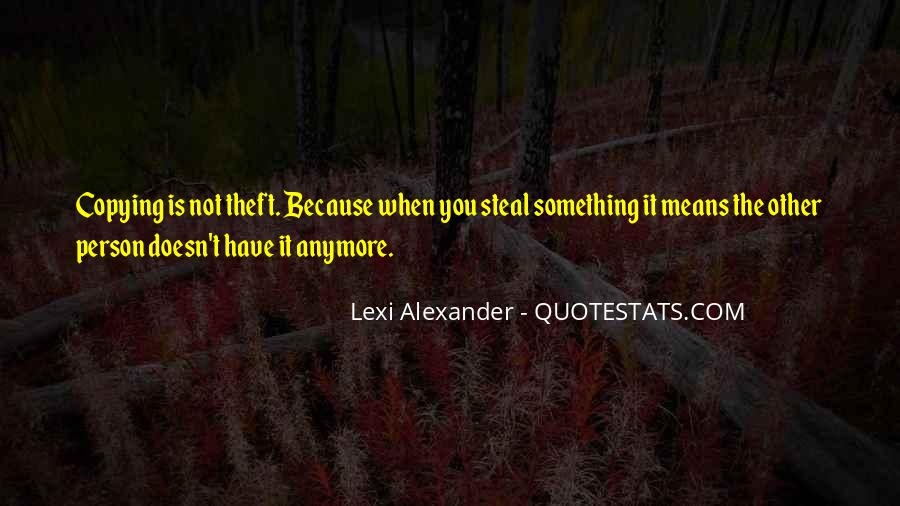Theft Stealing Quotes #11398