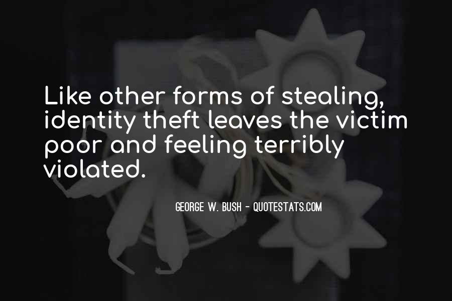 Theft Stealing Quotes #303547
