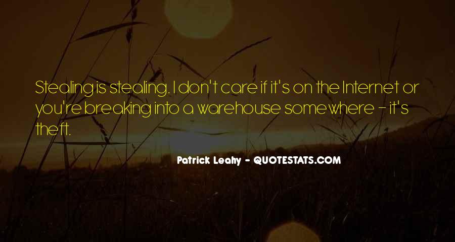Theft Stealing Quotes #913354