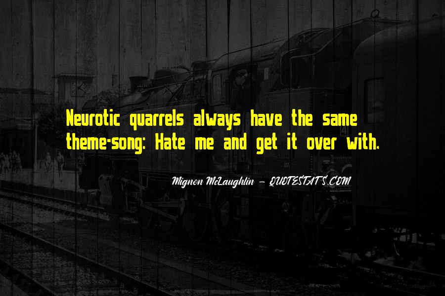 Theme Of Hate Quotes #269428