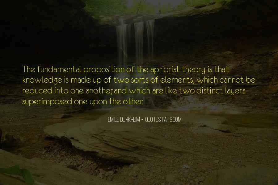 Quotes About Emile Durkheim #1116702