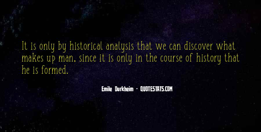 Quotes About Emile Durkheim #1143466
