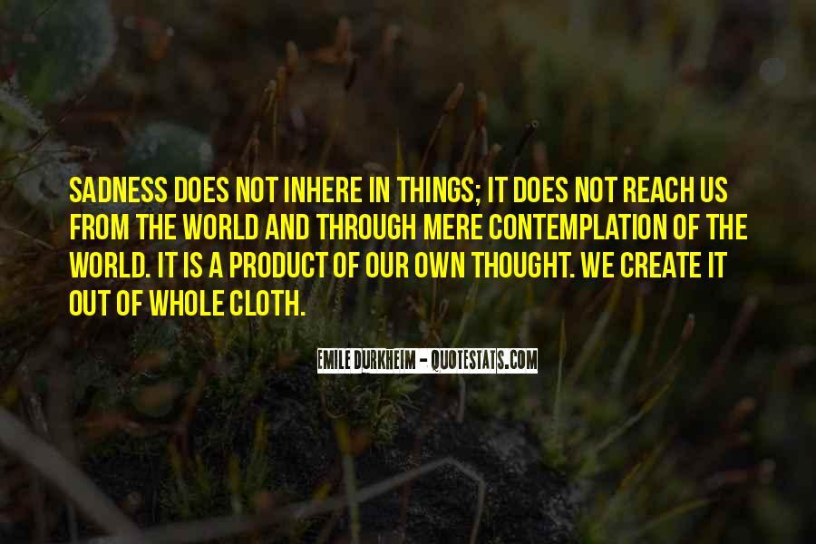 Quotes About Emile Durkheim #1243788
