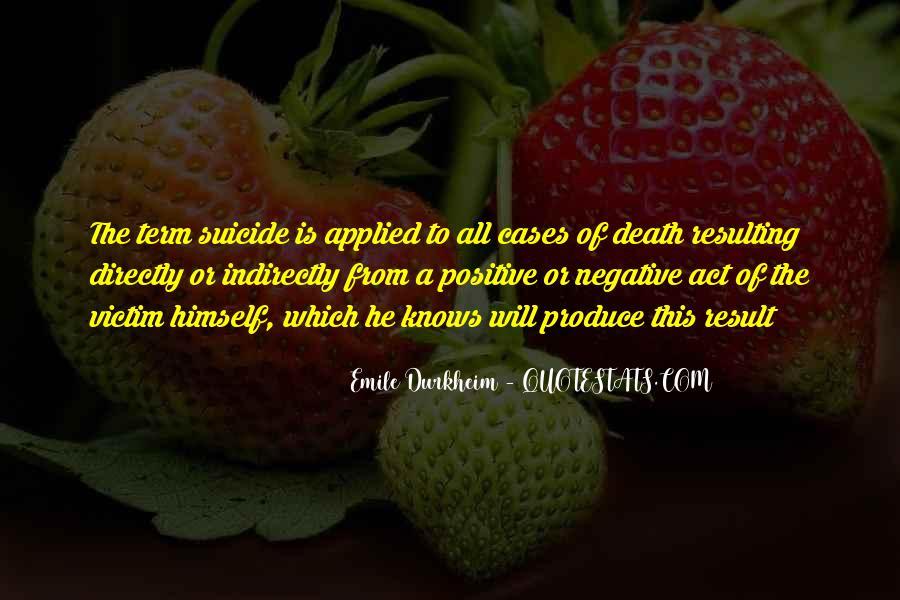 Quotes About Emile Durkheim #1287212
