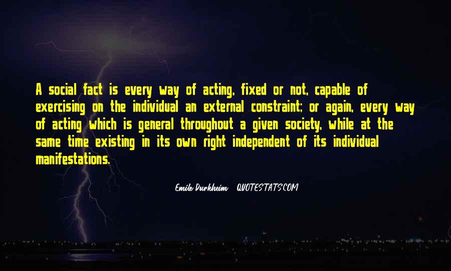 Quotes About Emile Durkheim #1438338
