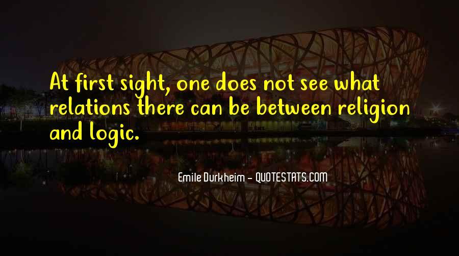 Quotes About Emile Durkheim #1459510