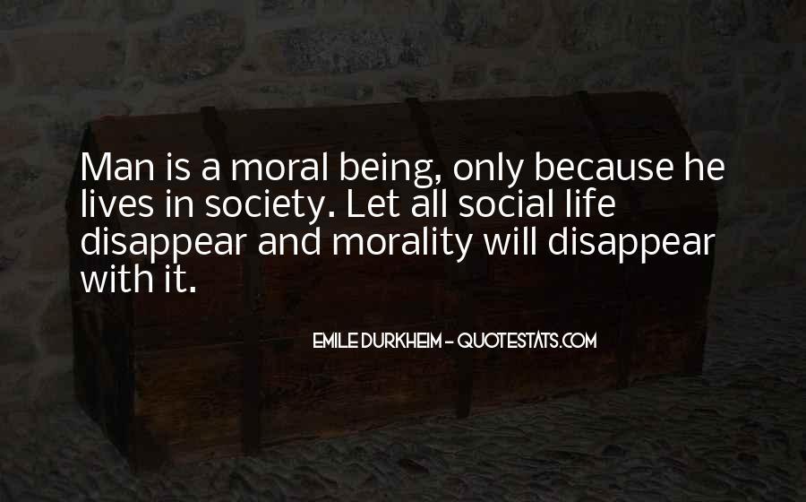 Quotes About Emile Durkheim #179353