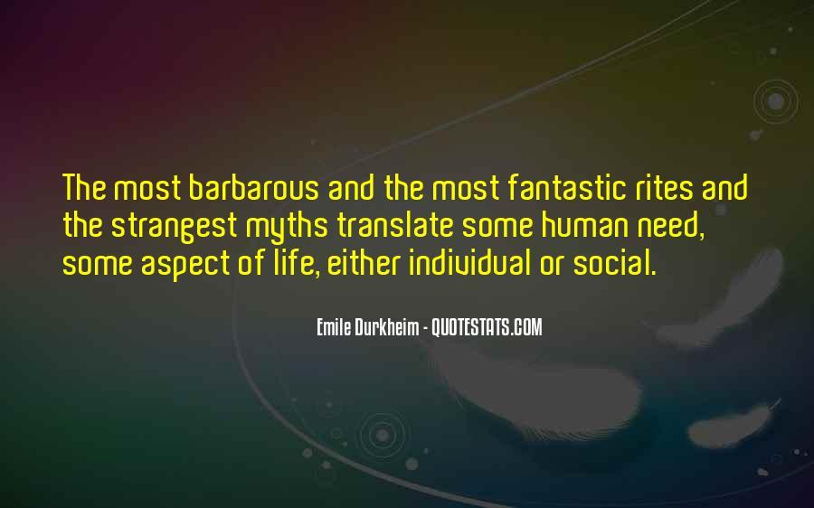Quotes About Emile Durkheim #1844918