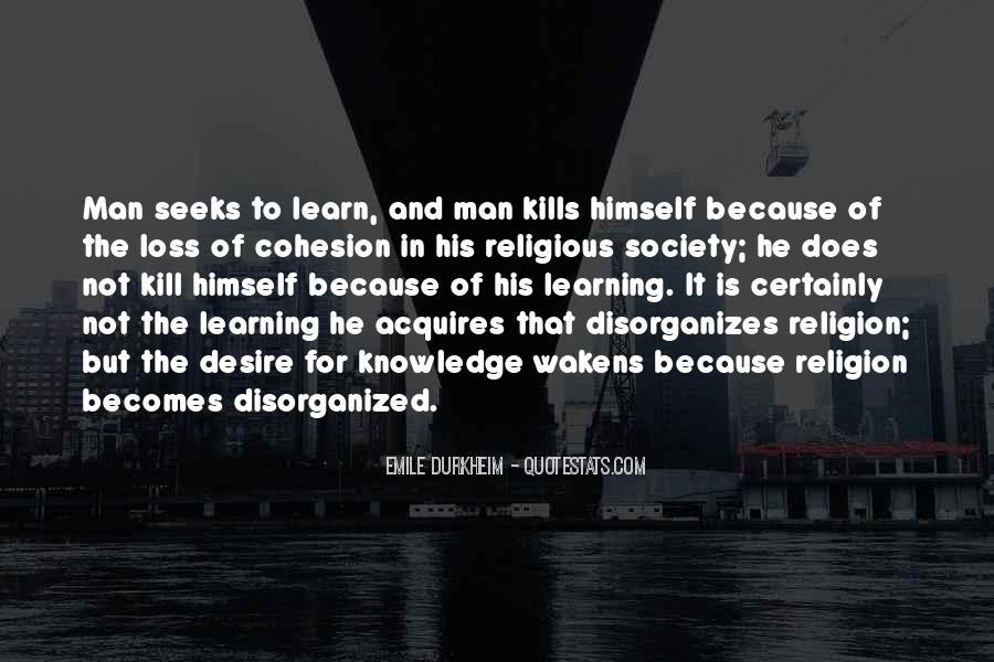 Quotes About Emile Durkheim #250159