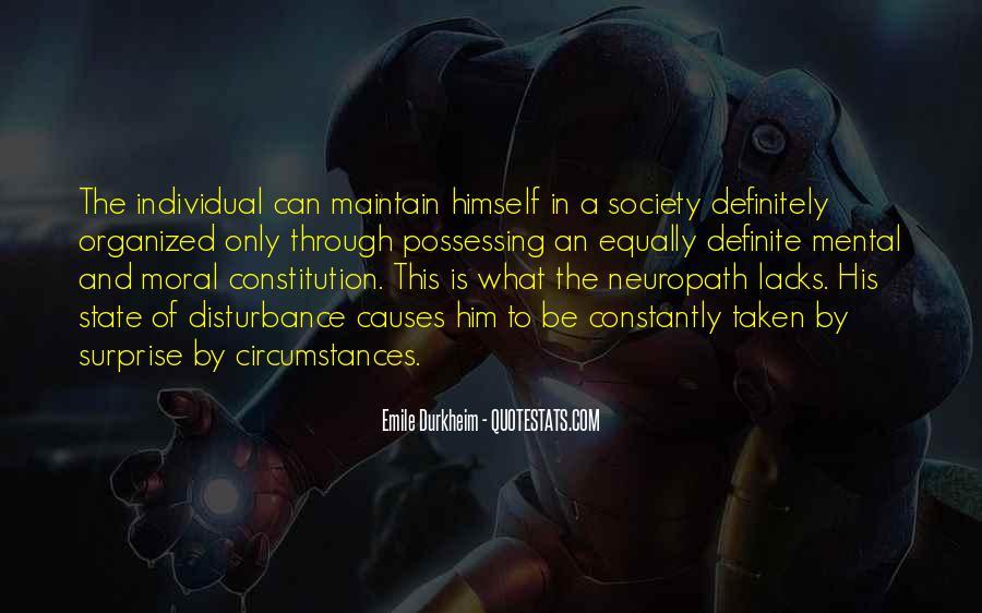 Quotes About Emile Durkheim #349228