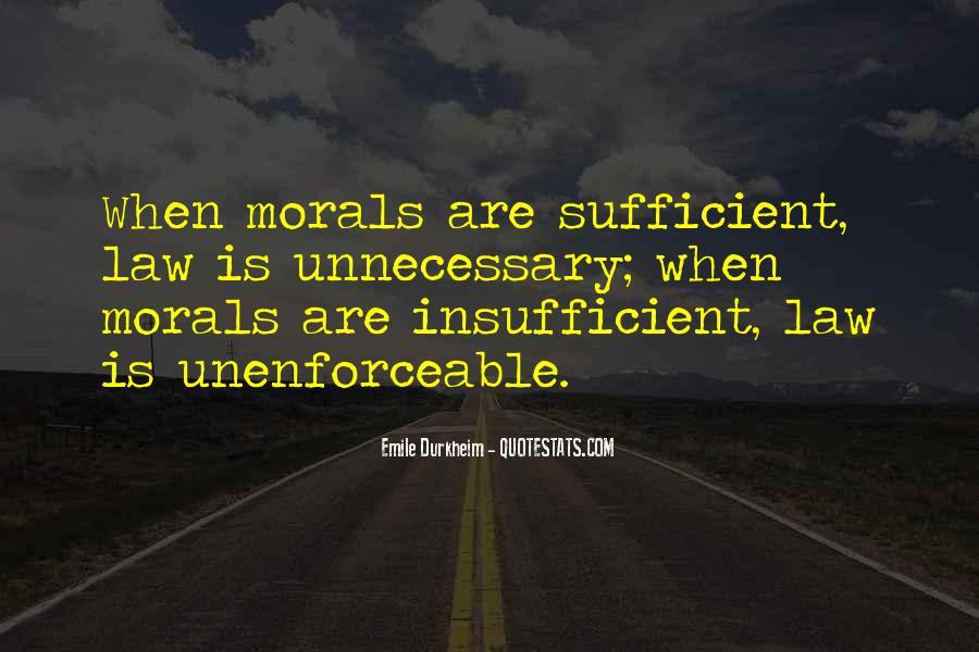 Quotes About Emile Durkheim #461098