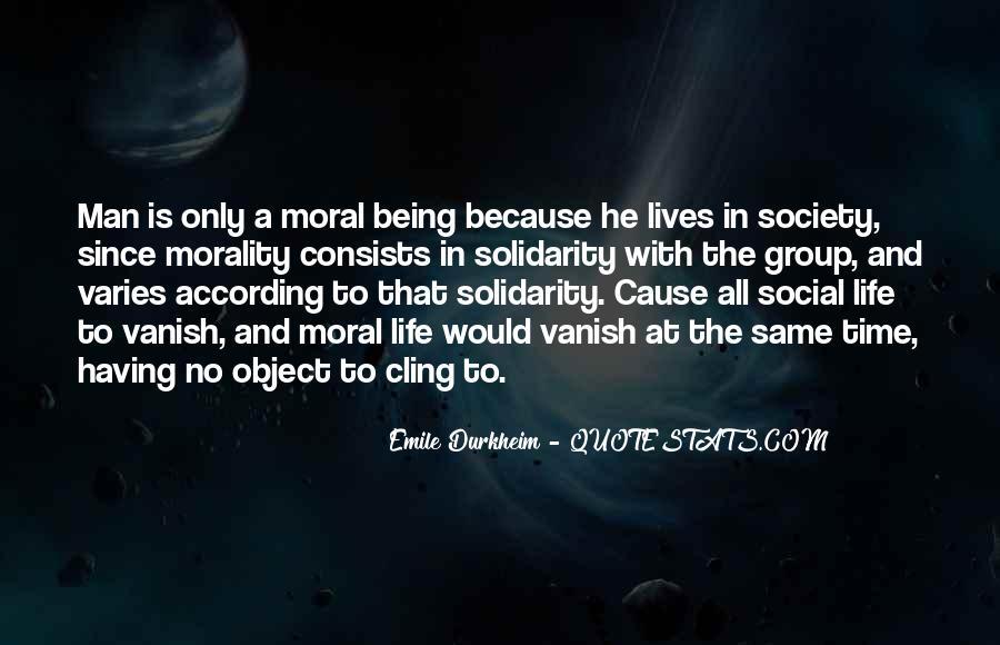 Quotes About Emile Durkheim #49635
