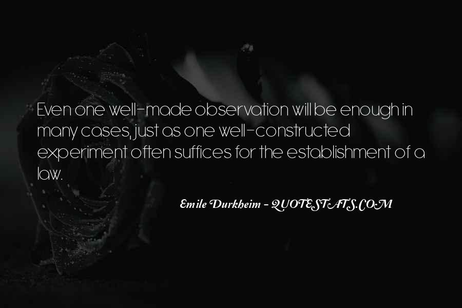 Quotes About Emile Durkheim #564707