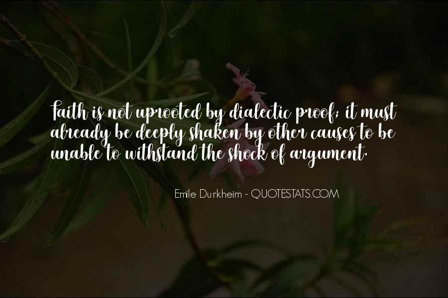 Quotes About Emile Durkheim #629861