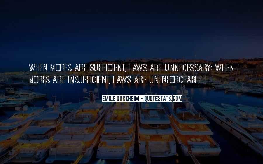 Quotes About Emile Durkheim #727283