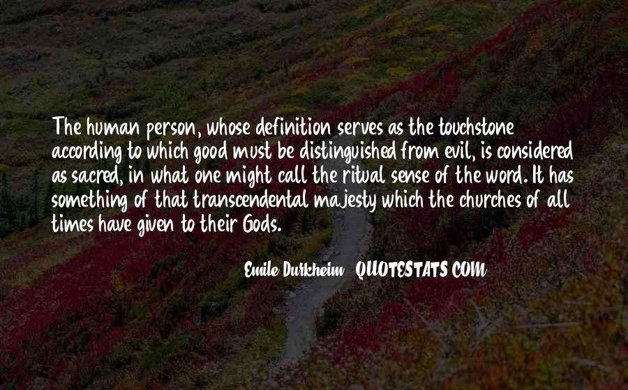 Quotes About Emile Durkheim #727681