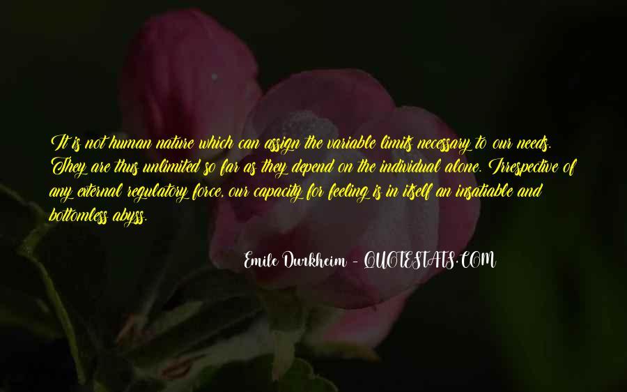 Quotes About Emile Durkheim #806218