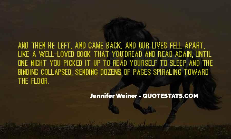 Then Came You Jennifer Weiner Quotes #592010