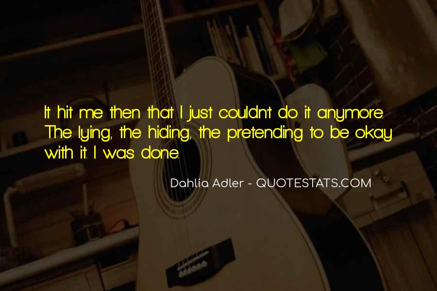 Then It Hit Me Quotes #1129232