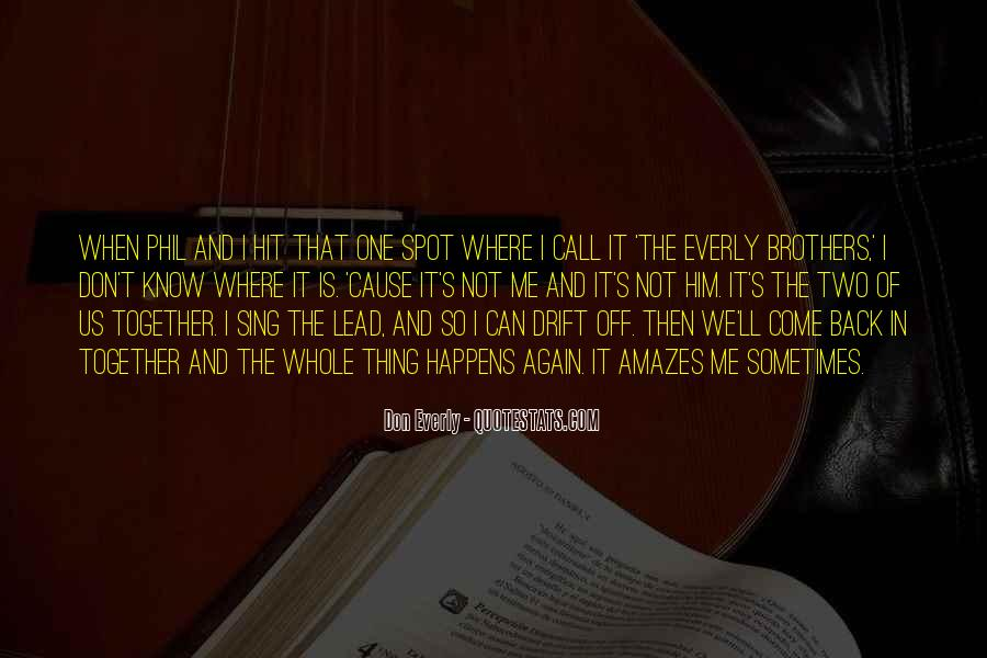 Then It Hit Me Quotes #1459536
