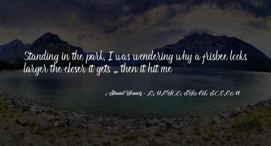 Then It Hit Me Quotes #15191