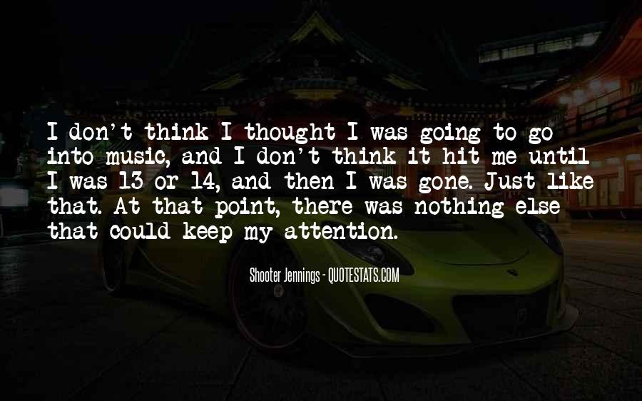 Then It Hit Me Quotes #419635