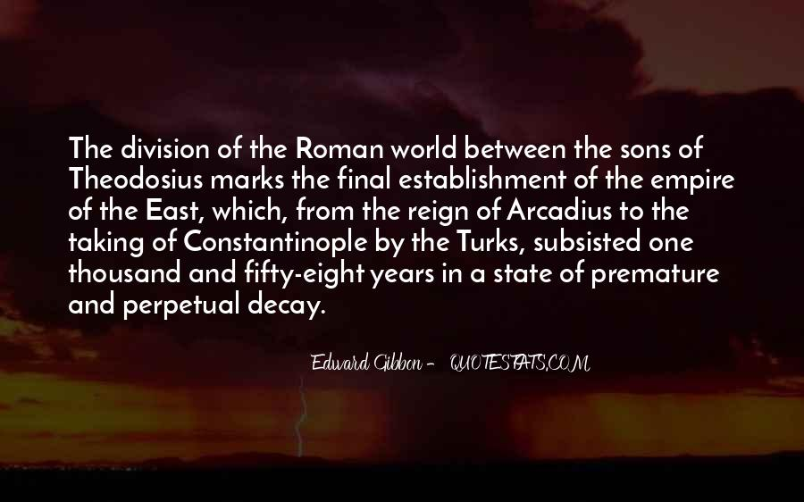 Theodosius Quotes #107417
