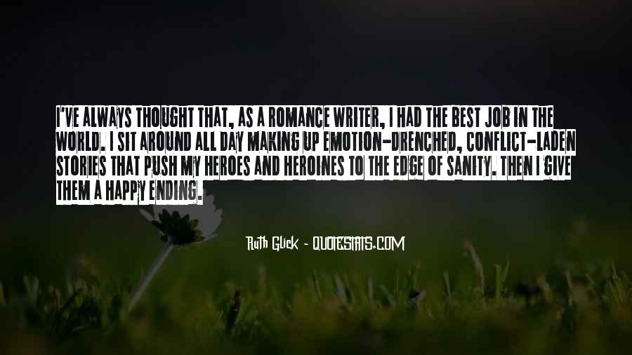 There Is Always A Happy Ending Quotes #1019876