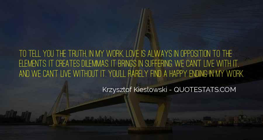 There Is Always A Happy Ending Quotes #1322331
