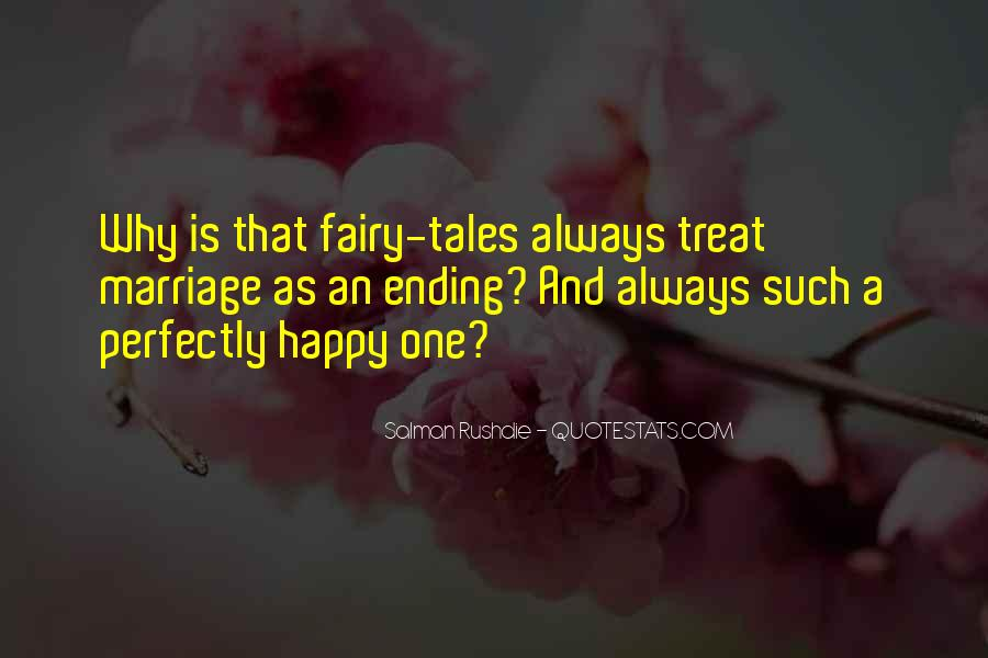 There Is Always A Happy Ending Quotes #1761731