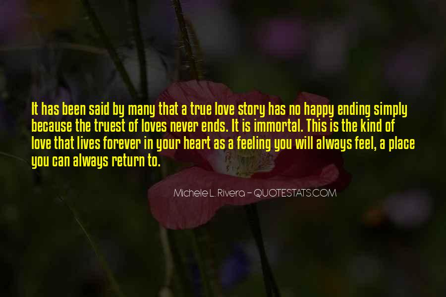 There Is Always A Happy Ending Quotes #72769