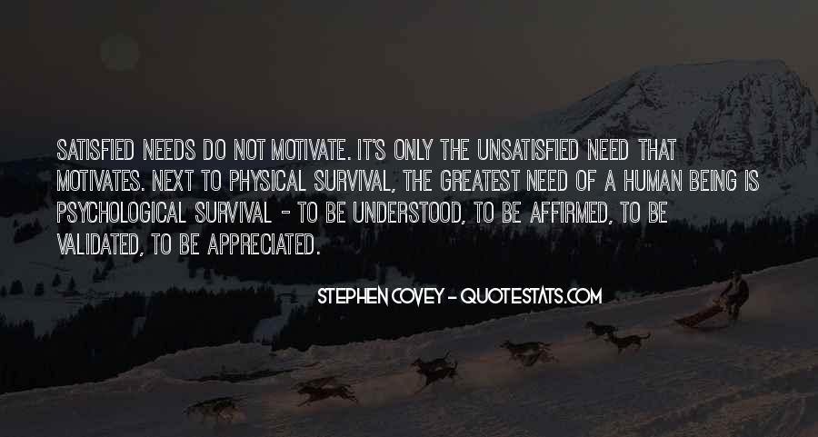 Quotes About Being Unsatisfied #1428669
