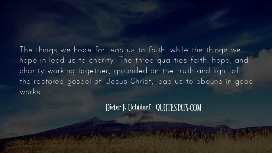 There Is Hope In Jesus Quotes #263470