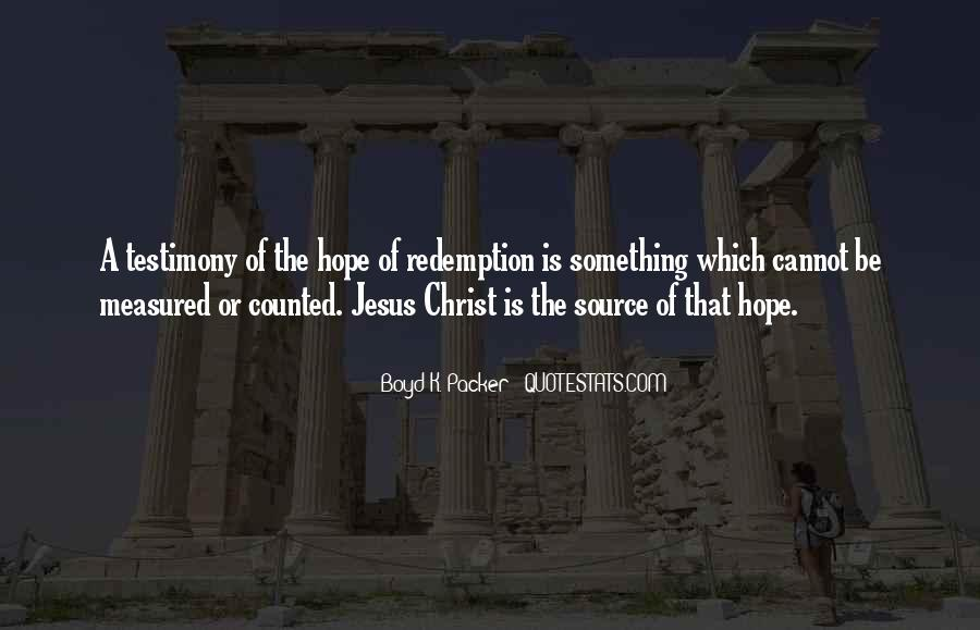 There Is Hope In Jesus Quotes #53010