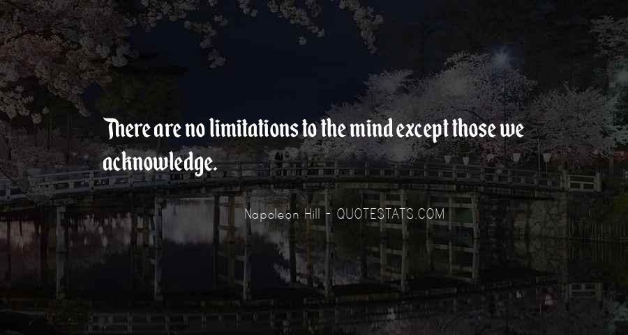 There No Limitations Quotes #1461271