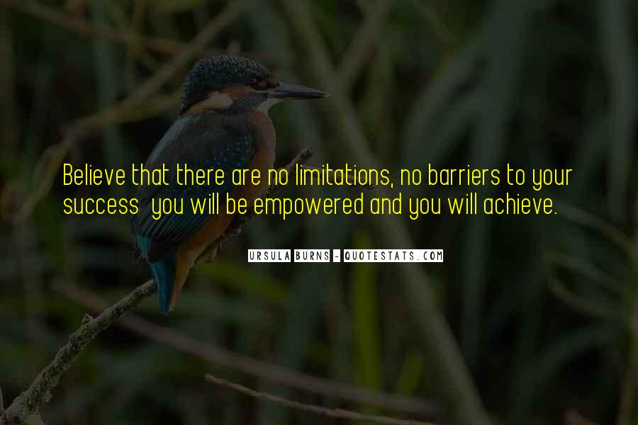 There No Limitations Quotes #766030
