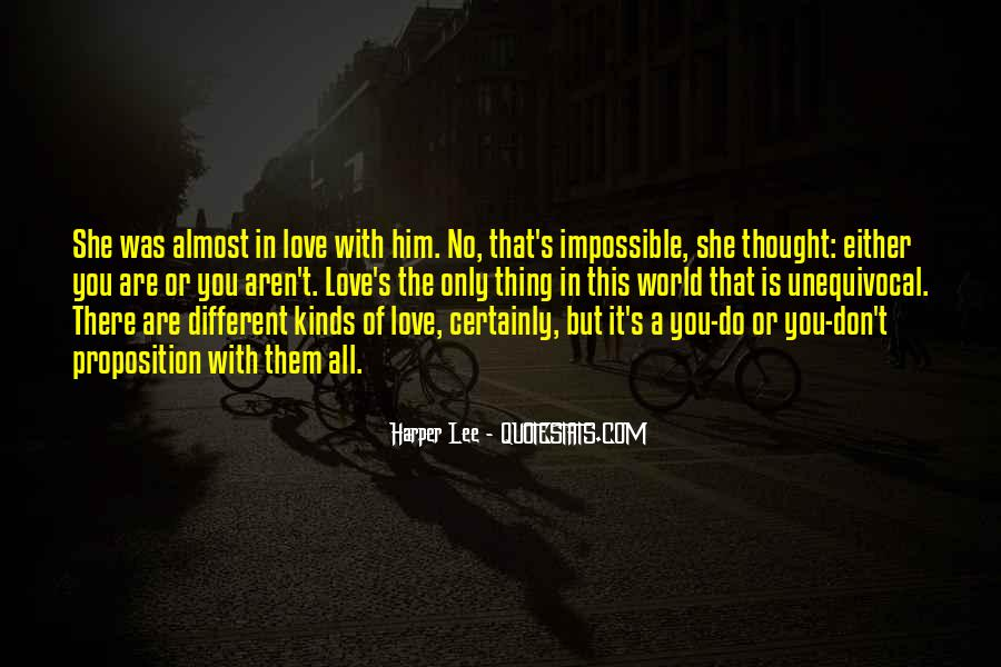 There Was Love Quotes #66763