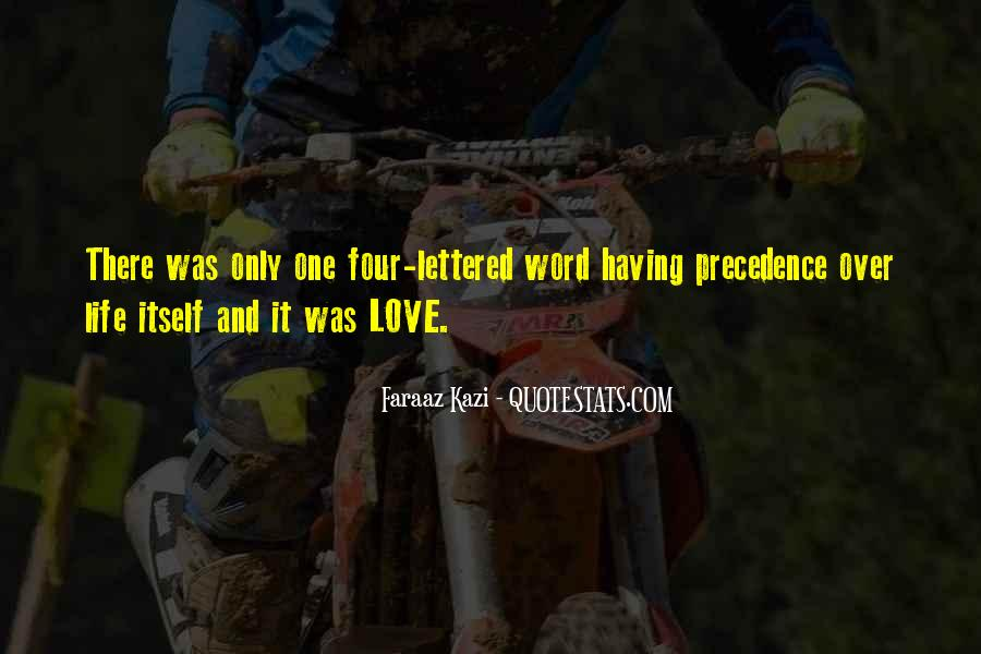 There Was Love Quotes #68783