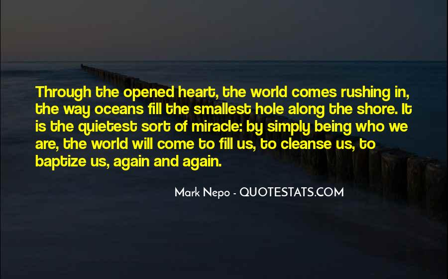 There's A Hole In My Heart Quotes #207261