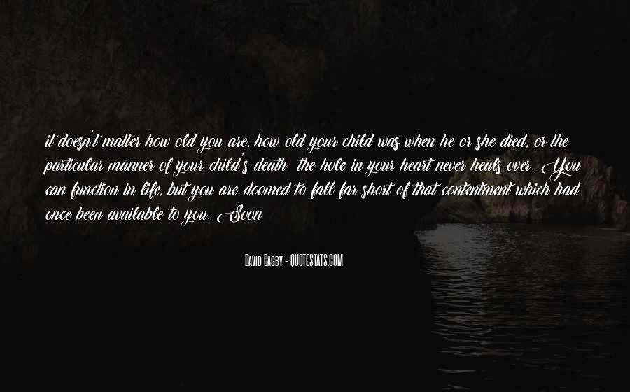 There's A Hole In My Heart Quotes #374846
