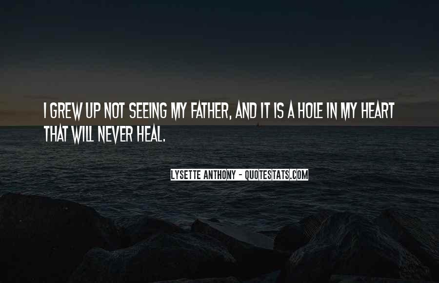 There's A Hole In My Heart Quotes #474578
