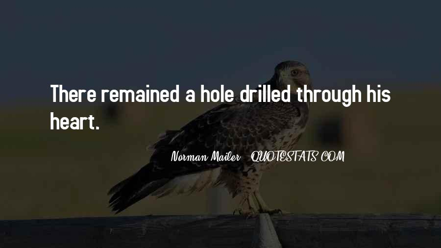 There's A Hole In My Heart Quotes #711556