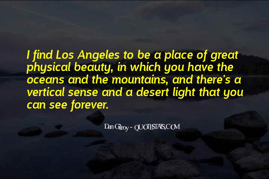 There's A Light Quotes #415944