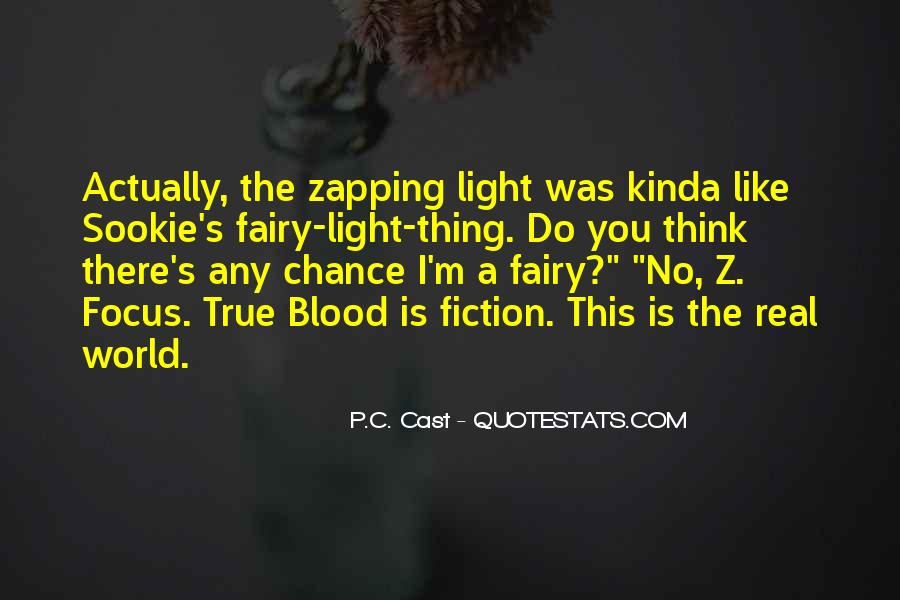 There's A Light Quotes #452818