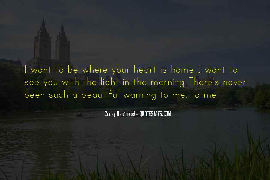 There's A Light Quotes #524778